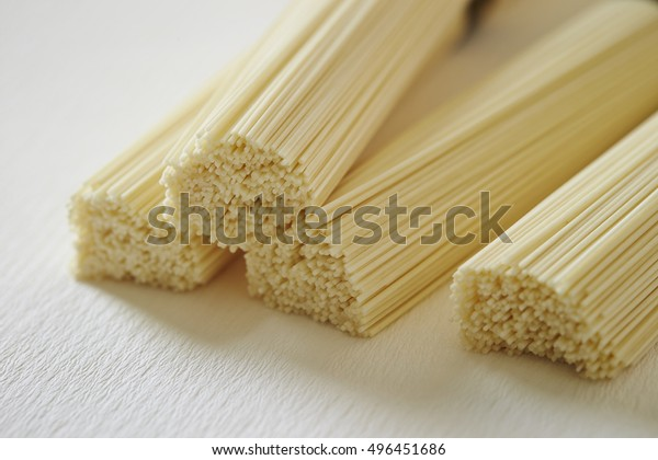 Very thin Japanese noodle