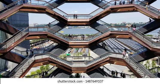 The Vessel at Hudson Yards  - Shutterstock ID 1487649107