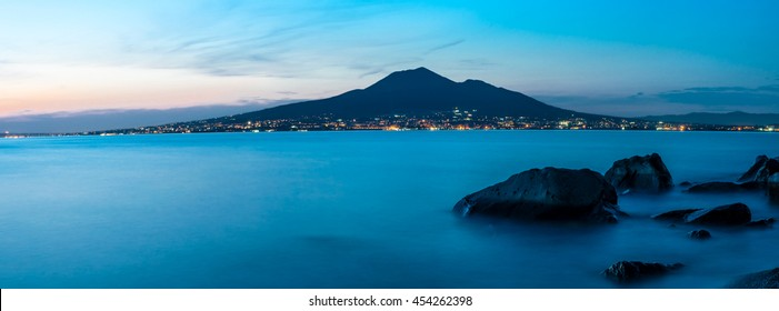 Vesuvius in the Gulf of Naples