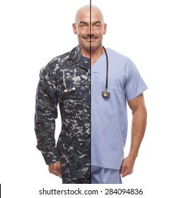 VETERAN SOLDIER | MILITARY TRANSITION TO CIVILIAN WORKPLACE | Navy doctor retiring from the armed forces.