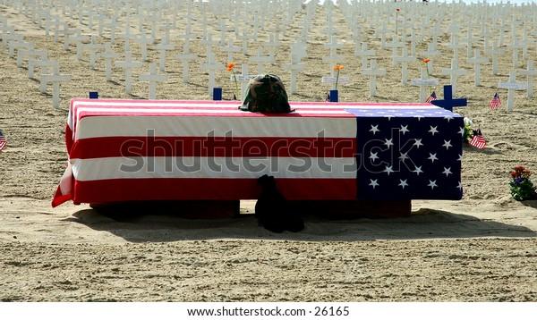 Veterans day memorial