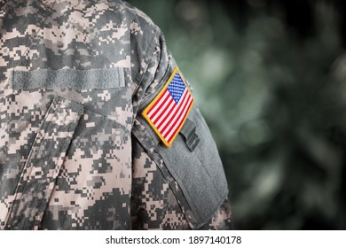 Veterans Day. Memorial day. US soldier. US Army. The United States Armed Forces.