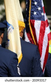 Veterans Day Military Color Guard