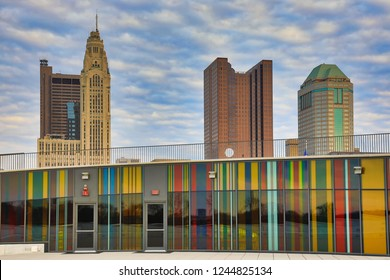 The Veterans Memorial Museum is a new addition to the Columbus, Ohio skyline