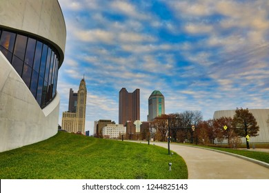 The Veterans Memorial Museum is a new addition to the Columbus, Ohio skyline and is a popular tourist attraction and area landmark.