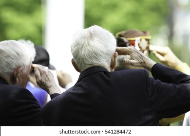 Veterans at National Holiday Ceremony