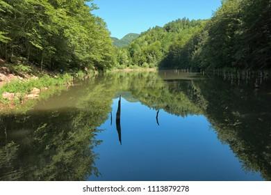 Vetrensko Lake in Serbia