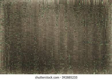 VHS Screen Glitch Texture