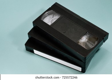 VHS video tape for your media projects or vintage publications.