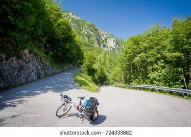 Via Claudia Augusta cycle path, Italy