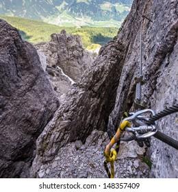Via ferrata, Elferspitze, Stubai Alps