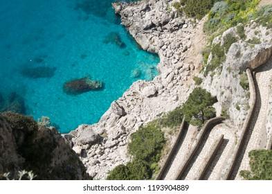 Via Krupp at Capri