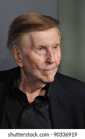 """Viacom chairman Sumner Redstone at the Los Angeles premiere of """"Footloose"""" at the Regency Village Theatre, Westwood, CA. October 3, 2011  Los Angeles, CA Picture: Paul Smith / Featureflash"""