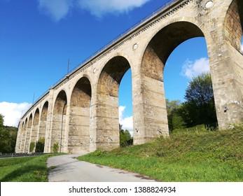 the viaduct of Altenbeken near Paderborn
