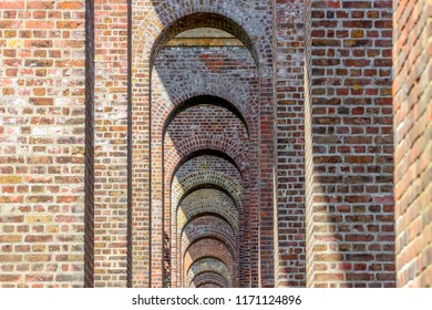 The viaduct arches