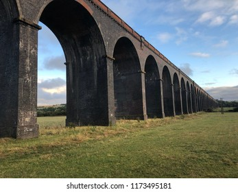 Viaduct with arches