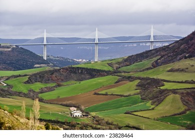 Viaduct of Millau, Aveyron, France