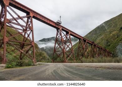 Viaducto del Toro (Del Toro Viaduct) Tren de las Nubes Railway -Quebrada del Toro, Salta, Argentina