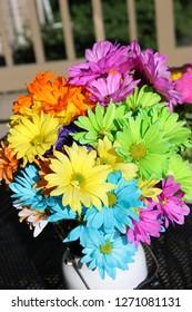 Vibrant Flowers in the light