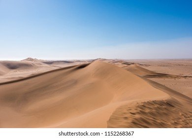 Vibrant Image of Dune 7 and the surrounding sand dunes near Swakopmund, Namibia, Africa