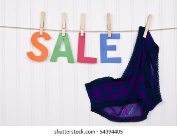 Vibrant Image for Your Next SALE Purple Panties.