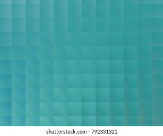 Vibrant multi-colors squares of changing colors, teals and blues.