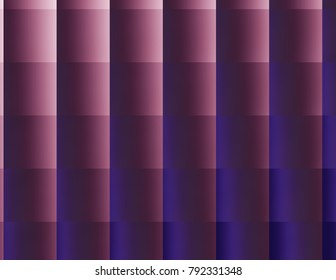 Vibrant multi-colors squares of changing colors, lavender and purple tones.