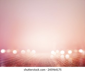 vibrant wooden floor pastel and bokeh for background, soft and blur concept