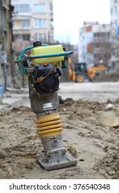 Vibratory rammer construction machinery parts