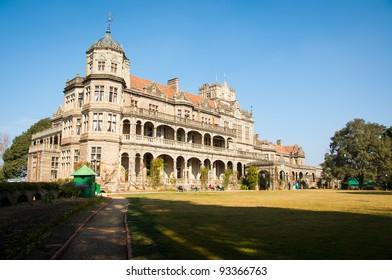 The Viceregal Lodge in Shimla, Himachal Pradesh, India that now houses the Indian Institute of Advanced Study