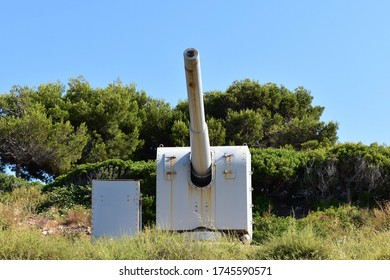 Vickers cannon model 1923  coast artillery