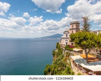Vico Equense, beautiful landscape location in south Italy