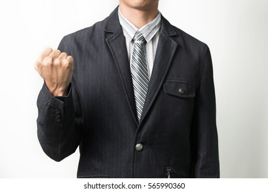 Vicory punch, Businessman cheering