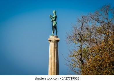 The Victor - Pobednik monument in Belgrade