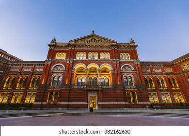 Victoria and Albert Museum architecture, London, England