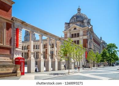 Victoria and Albert Museum in London, UK