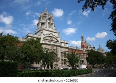 Victoria and Albert Museum, South Kensington London