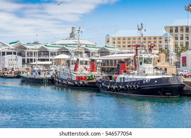 Victoria and Alfred Waterfront and harbour in Cape Town, South Africa