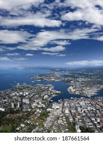 Victoria - city and Inner Harbour, Vancouver Island, British Columbia, Canada