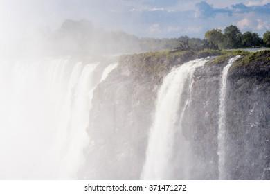 Victoria Falls, Zambezi River, Zimbabwe and Zambia