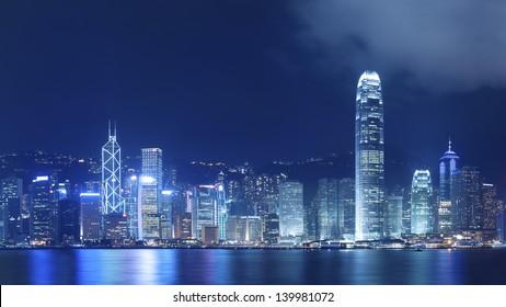 Victoria Harbor in Hong Kong