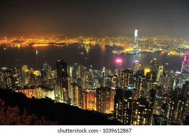 Victoria Harbour at Hongkong Topview