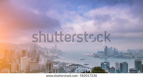 Victoria Harbour,Hong Kong China