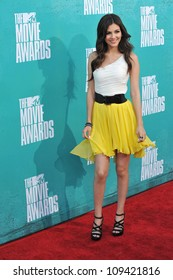 Victoria Justice at the 2012 MTV Movie Awards at Universal Studios, Hollywood. June 4, 2012  Los Angeles, CA Picture: Paul Smith / Featureflash