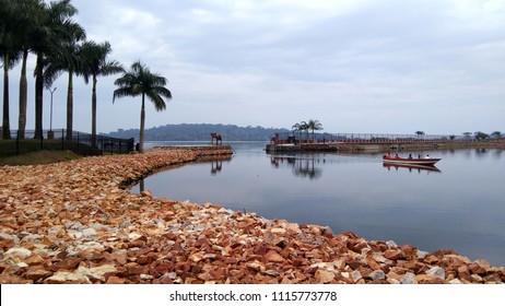 Victoria lake of Entebbe