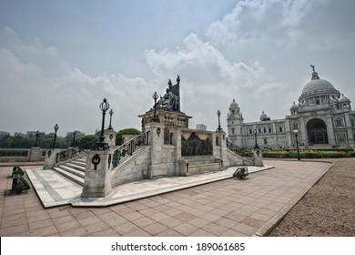 Victoria Memorial in Calcutta (Kolkata) - India