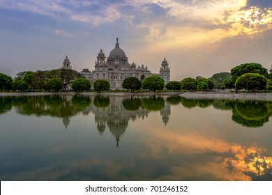 The Victoria Memorial is a large marble building in Kolkata (formerly Calcutta), West Bengal, India, which was built between 1906 and 1921