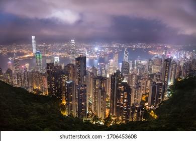 Victoria Peak, Hong Kong HK
