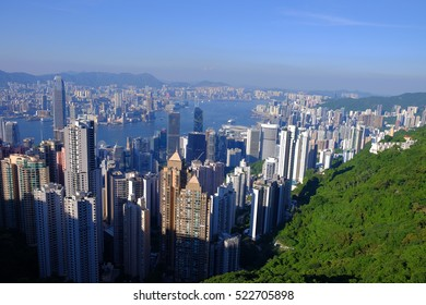 Victoria Peak is a mountain in the western half of Hong Kong Island. It is also known as Mount Austin, and locally as The Peak. It is the highest mountain on Hong Kong island