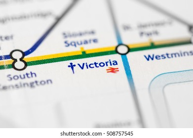 Victoria station images stock photos vectors shutterstock victoria station circle line london uk reheart Images